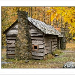 AD0786: Ephraim Bales cabin, Great Smoky Mountains National Park