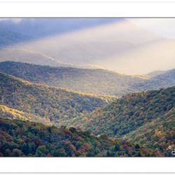 AD0433: Crepuscular rays over the Blue Ridge Mountains, Blue Rid