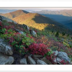 View from the Pinnacle near the Blue Ridge Parkway, NC, Autumn
