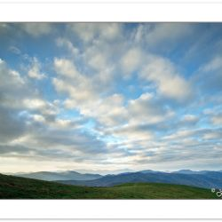 AD0663: Clearing storm over Max Patch, Pisgah National Forest, N