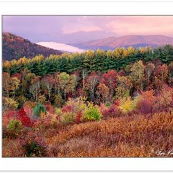 AL0112: View from Max Patch looking west, Sunrise, Pisgah Nation