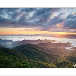SD1059: Sunrise view from Albert Mountain on the Appalachian Tra