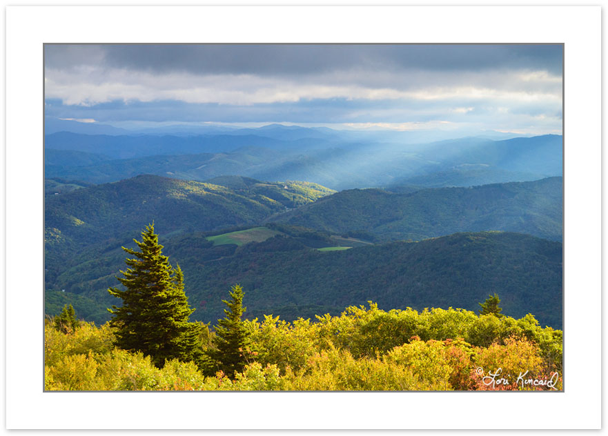 AD0668: View from Little Pinnacle, Grayson Highlands State Park,