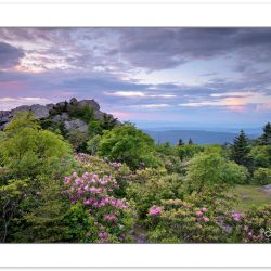 SD1061: Sunset View from Rhododendron Gap along the Appalachian