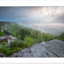 SD0924: Clearing storm at the edge of Bear Rocks Preserve, WV, S